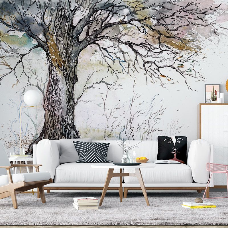 Fototapeta Stare Drzewo Ilustracja