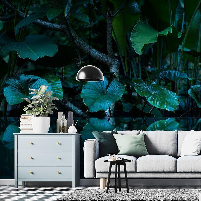 Fototapeta Tropikalny las deszczowy z lustrem wody