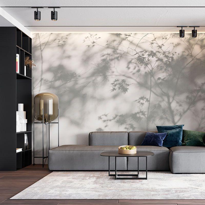 Fototapeta Cień drzewa na ścianie