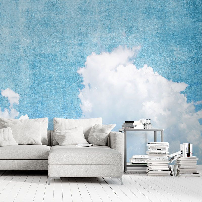 fototapeta niebo z teksturą w stylu vintage