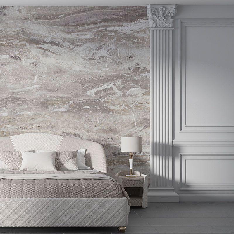 Fototapeta Beżowy marmur abstrakcyjna tekstura, fototapeta do sypialni