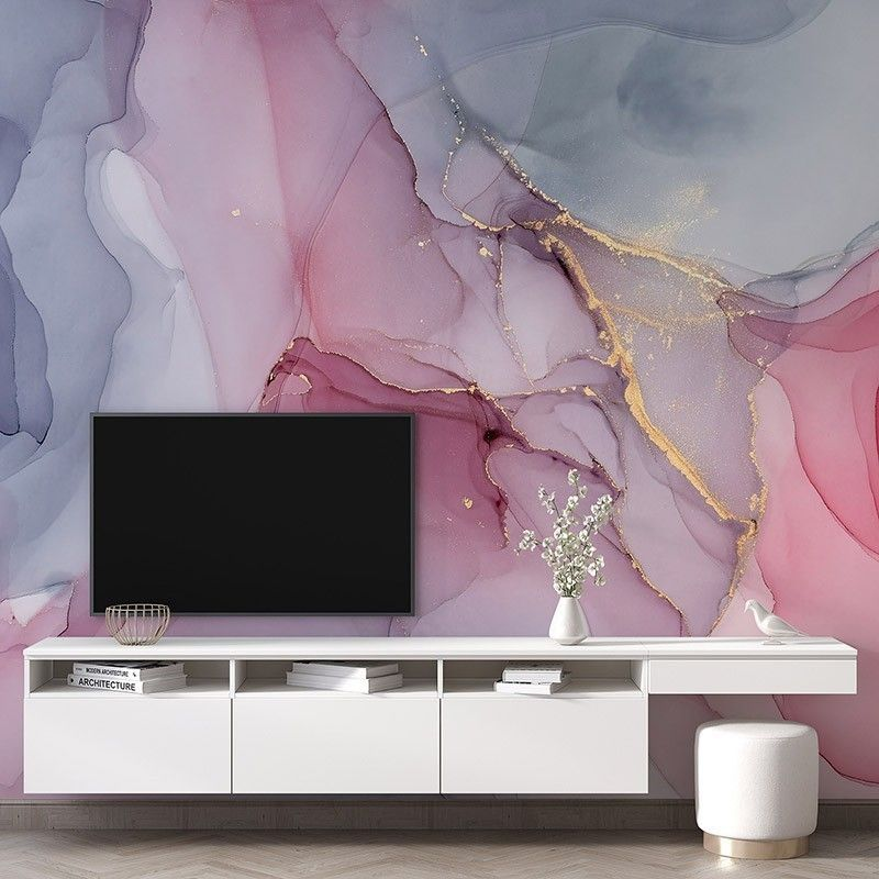 Fototapeta abstrakcyjne różowe marmurowe tło