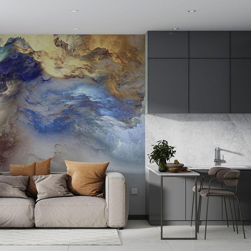 Fototapeta Kolorowe fantastyczne chmury