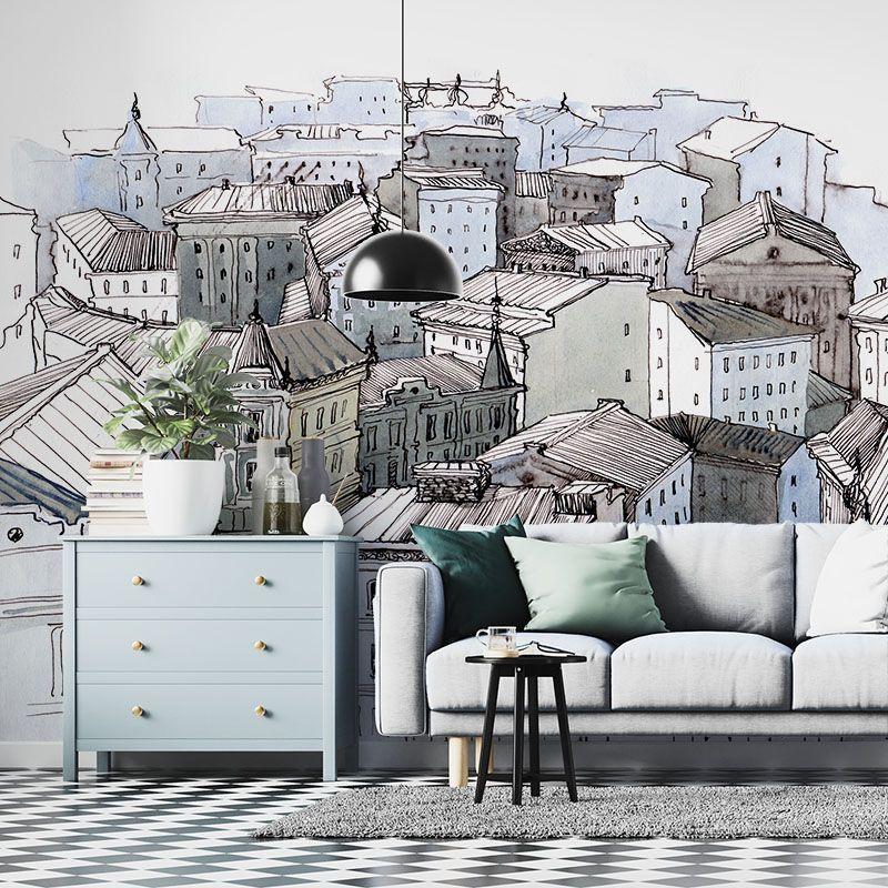 Fototapeta dachy miasta