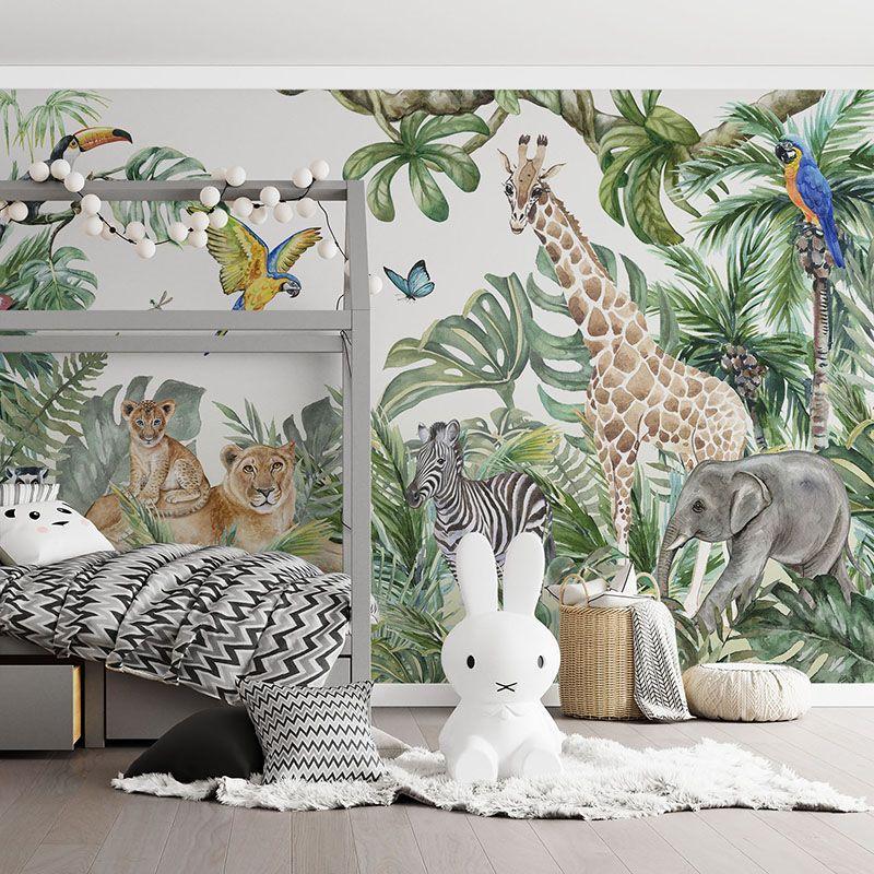 Fototapeta Dżungla i zwierzęta