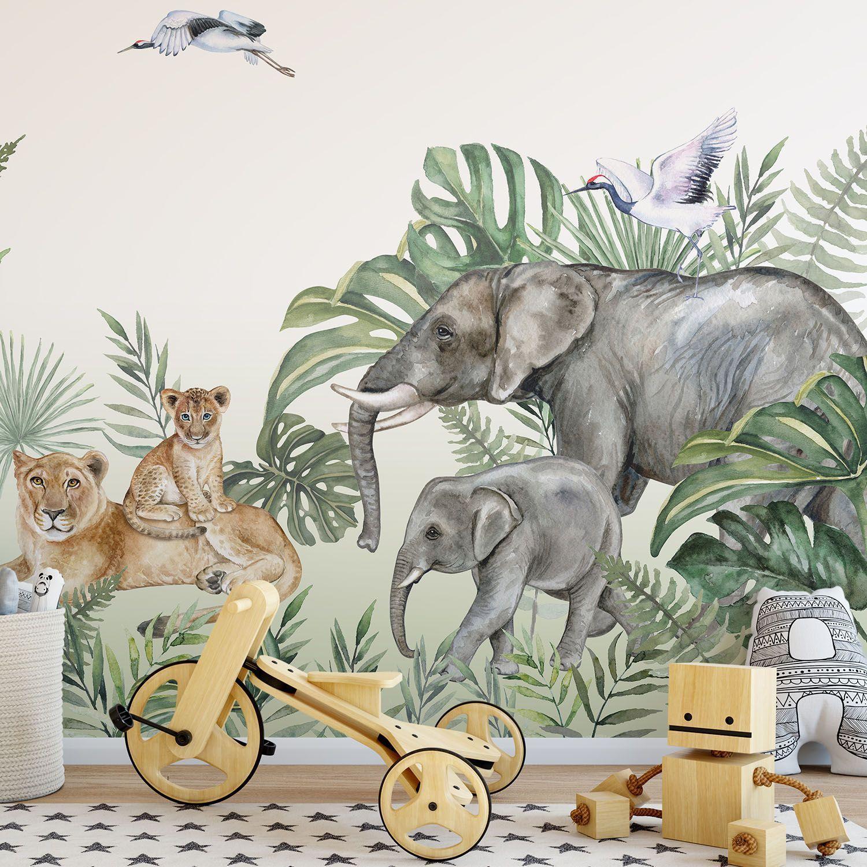 Fototapeta Zwierzęta w Dżungli
