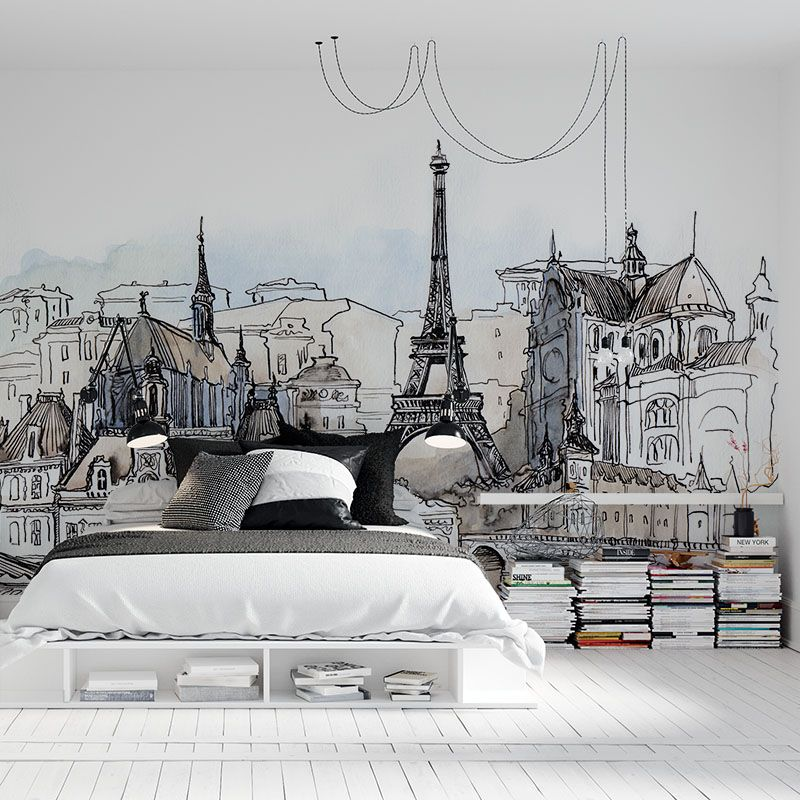 Fototapeta Paryż Ilustracja