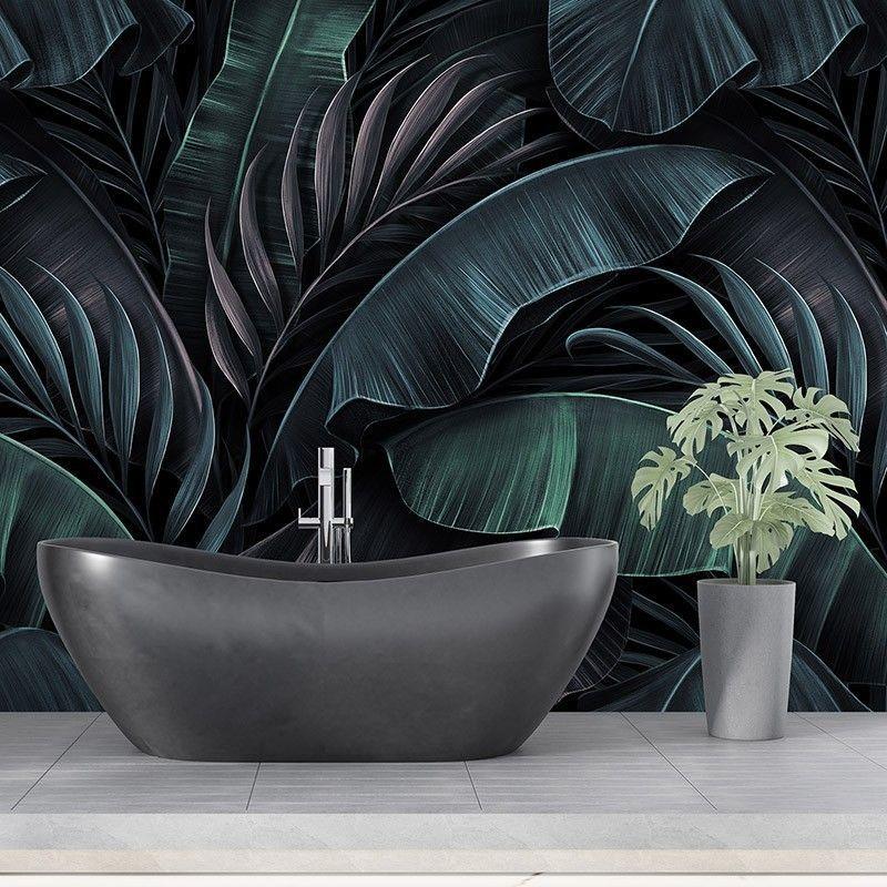 Fototapeta Egzotyczny wzór z liści bananowca