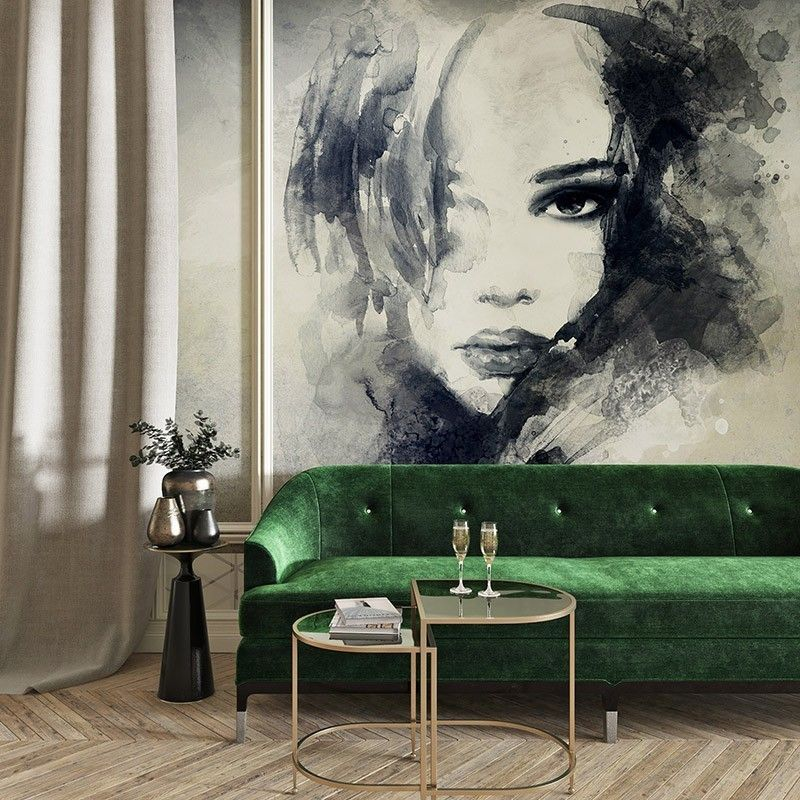 Fototapeta Portret kobiety, malarstwo