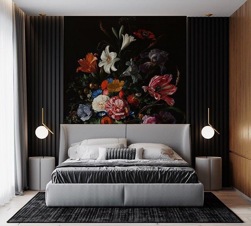 Fototapeta piękny bukiet kwiatów, malarstwo