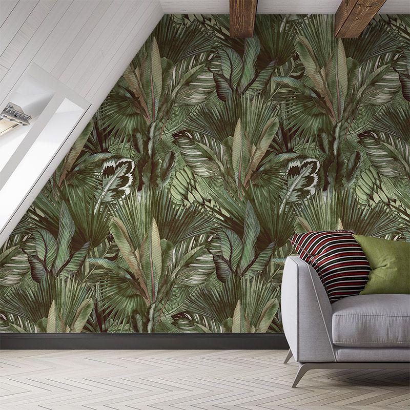 Fototapeta Wzór tropikalnych liści